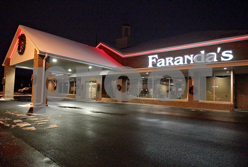 Monica Maschak - mmaschak@shawmedia.com<br /> Faranda's recently opened this month in DeKalb on Saturday, December 14, 2013. The facility can host meetings, receptions and banquets.