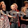 "Monica Maschak - mmaschak@shawmedia.com<br /> Mrs. Lovett's third grade class performs ""Huron Carol"" and ""Take Me Out in a Snowstorm"" during Waterman Elementary School's winter music program at Indian Creek High School on Tuesday, December 17, 2013."