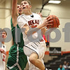 Monica Maschak - mmaschak@shawmedia.com<br /> DeKalb's Jace Kitchen eyes the hoop in the second quarter of a Chuck Dayton tournament game against Geneseo on Friday, December 27, 2013. The Barbs won, 73-69.