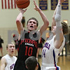 Rob Winner – rwinner@shawmedia.com<br /> <br /> Indian Creek's Jaron Todd (10) puts up a shot in the second quarter during the Little 10 Conference tournament final in Somonauk, Ill., Friday Feb. 1, 2013