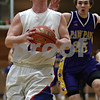 Rob Winner – rwinner@shawmedia.com<br /> <br /> Hinckley-Big Rock's Zach Michels goes to the basket for two points in the first quarter during the Little Ten Conference tournament against Paw Paw in Somonauk, Ill., Thursday, Jan. 31, 2013. H-BR defeated Paw Paw, 58-47.