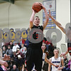 Rob Winner – rwinner@shawmedia.com<br /> <br /> Indian Creek's Garrett Post (30) takes a shot in the second quarter during the Little Ten Conference tournament against Newark in Somonauk, Ill., Thursday, Jan. 31, 2013. Indian Creek defeated Newark, 58-57, in overtime.