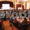 Kyle Bursaw – kbursaw@shawmedia.com<br /> <br /> People have dinner at the DeKalb Chamber of Commerce annual meeting in Altgeld Hall in DeKalb, Ill. on Thursday, Jan. 31, 2013.