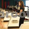 Kyle Bursaw – kbursaw@shawmedia.com<br /> <br /> Sycamore's Dani Pivonka gets ready to roll during practice at Mardi Gras Lanes on Friday, Feb. 1, 2013.