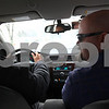 Kyle Bursaw – kbursaw@shawmedia.com<br /> <br /> DeKalb High School driver's education instructor Mark Sykes (right) advises student Jaylen Cole, 15, as he does a behind-the-wheel session on Tuesday, Feb. 5, 2013.
