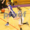 Kyle Bursaw – kbursaw@shawmedia.com<br /> <br /> Hinckley-Big Rock's Jacqueline Madden speeds down the court with a steal in the second quarter of Hinckley-Big Rock's 40-32 victory over Putnam County in the Class 1A Oglesby Sectional at Illinois Valley Community College in Oglesby, Ill. on Monday, Feb. 11, 2013.