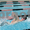 Rob Winner – rwinner@shawmedia.com<br /> <br /> DeKalb-Sycamore co-op swimmer Marc Dubrick competes in the 500 freestyle during the St. Charles East Sectional on Saturday, Feb. 16, 2013. Dubrick finished third with a time of 4:47.94.
