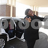 "Rob Winner – rwinner@shawmedia.com<br /> <br /> DeKalb resident Shatoya Black reacts after arriving at Kishwaukee Community Hospital after a limousine ride for the third annual ""This One's for the Girls"" expo on Saturday, Feb. 16, 2013. Black, a single mother and cancer survivor, was the winner of Kishwaukee Community Hospital's ""This One's for the Girls"" limousine contest."
