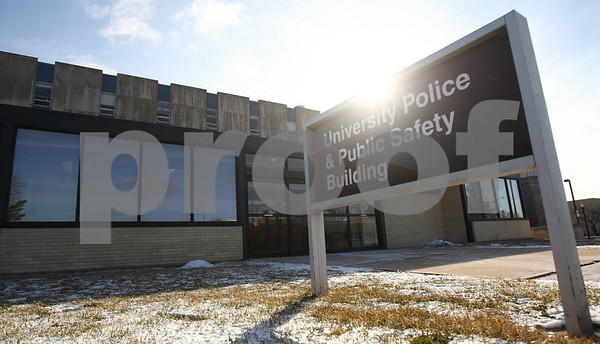Kyle Bursaw – kbursaw@shawmedia.com<br /> <br /> Northern Illinois University's police and public safety building, pictured on Wednesday, Feb. 20, 2013 in DeKalb, Ill.