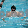 Rob Winner – rwinner@shawmedia.com<br /> <br /> DeKalb-Sycamore co-op swimmer Ryan Schultz competes in the 100 breaststroke during the St. Charles East Sectional on Saturday, Feb. 16, 2013. Schultz finished third with a time of 1:.