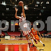 Rob Winner – rwinner@shawmedia.com<br /> <br /> Northern Illinois' Abdel Nader (23) puts up a shot for two points in the first half during a game against Bowling Green in DeKalb, Ill., Wednesday, Feb. 6, 2013.