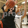 Rob Winner – rwinner@shawmedia.com<br /> <br /> DeKalb's Rudy Lopez (25) puts up two points late in the fourth quarter in Maple Park, Ill., Friday, Feb. 8, 2013. DeKalb defeated Kaneland, 50-45.