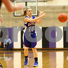 Kyle Bursaw – kbursaw@shawmedia.com<br /> <br /> Hinckley-Big Rock's Jacqueline Madden dishes to a teammate in the first quarter of Hinckley-Big Rock's 40-32 victory over Putnam County in the Class 1A Oglesby Sectional at Illinois Valley Community College in Oglesby, Ill. on Monday, Feb. 11, 2013.