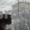 """Submitted Julianne Morelli <br /> <br /> """"This kitty was watching it snow from his cozy perch at Tails."""""""