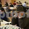 Rob Winner – rwinner@shawmedia.com<br /> <br /> Sycamore resident  Cliff Adams participates in the U.S. Chess Federation Home for the Holiday event at First Congregational United Church of Christ in DeKalb, Ill., Saturday, Dec. 29, 2012.