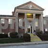 Rob Winner – rwinner@shawmedia.com<br /> <br /> The Sandwich Public Library as seen on Wednesday, Jan. 2, 2013.  The library received $1.6 million from the state and passed a referendum to issue $3.4 million in bonds. The current building was built in 1941 and in desperate need of an upgrade as it is only 4,780 square feet and is holding more than double the materials than it was built for.
