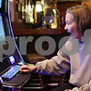 Rob Winner – rwinner@shawmedia.com<br /> <br /> Kingston resident Brenda Atkinson reacts after winning $2.50 while playing one of the three video gambling machines at Karlsbad Tavern in Genoa, Ill., Wednesday, Jan. 9, 2013.