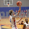 Rob Winner – rwinner@shawmedia.com<br /> <br /> Genoa-Kingston's Eli Thurlby goes to the basket for two points in the fourth quarter in Genoa, Ill., Friday, Jan. 11, 2013. Genoa-Kingston defeated Richmond-Burton, 63-50.