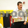 Rob Winner – rwinner@shawmedia.com<br /> <br /> Sycamore coach Alex Nelson reacts during the 182-pound match between Chris Malone and DeKalb's Logan Chase in Sycamore, Ill., Thursday, Jan. 10, 2013. Malone won with a 14-4 decision.