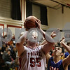 Rob Winner – rwinner@shawmedia.com<br /> <br /> Indian Creek's Garrison Govig (55) puts up two to tie the game late during the fourth quarter in Shabbona, Ill., Saturday, Jan. 5, 2013. Genoa-Kingston defeated IC, 44-42.