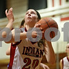 Rob Winner – rwinner@shawmedia.com<br /> <br /> Indian Creek's Kate Thuestad looks to shoot during the second quarter of a game against Genoa-Kingston in Shabbona, Ill., Saturday, Jan. 5, 2013.