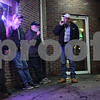 Rob Winner – rwinner@shawmedia.com<br /> <br /> A group of men smoking cigarettes are seen outside of Sullivan's Tavern in DeKalb, Ill., Friday, Jan. 11, 2013.<br /> <br /> ***Did not want to be identified***
