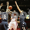 Rob Winner – rwinner@shawmedia.com<br /> <br /> Northern Illinois' Akeem Springs (2) puts up a shot for two points during the first half in DeKalb, Ill., Saturday, Jan. 12, 2013.