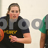 Kyle Bursaw – kbursaw@shawmedia.com<br /> <br /> Sycamore sophomore Bailey Gilbert makes a move to get around a teammate during a drill at practice on Wednesday, Jan. 16, 2013.