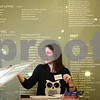 Kyle Bursaw – kbursaw@shawmedia.com<br /> <br /> Midwest Museum of Natural History employee Heather Williams inventories items that will be sold in a silent auction in Sycamore, Ill. on Wednesday, Jan. 23, 2013. The silent auction will be during the museum's Groundhog Gala fundraiser at the museum on Saturday Jan. 26 from 6 to 9 p.m. The event will feature seven live exhibitors, food and live music. Tickets can be purchased at the door and are $30 for a single ticket or $50 for two.