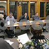 Rob Winner – rwinner@shawmedia.com<br /> <br /> DeKalb Park District board members during a meeting at Hopkins Park in DeKalb, Ill. on Wednesday, Jan. 16, 2013.