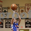 Rob Winner – rwinner@shawmedia.com<br /> <br /> Genoa-Kingston's Mason Lucca (10) puts up a shot good for two points during the first quarter in Shabbona, Ill., Saturday, Jan. 5, 2013. GK defeated Indian Creek, 44-42.