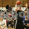 Rob Winner – rwinner@shawmedia.com<br /> <br /> Sycamore's Ben Niemann (20) puts up two points with a shot during the second quarter in Maple Park, Ill., Tuesday, Jan. 22, 2013. Kaneland defeated Sycamore, 43-42.