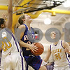 Rob Winner – rwinner@shawmedia.com<br /> <br /> Hinckley-Big Rock's Lauren Paver (21) looks to shoot in the fourth quarter during the Little Ten Conference semifinal in Serena, Ill., Thursday, Jan. 17, 2013. Serena defeated H-BR, 37-35.