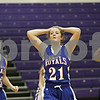 Rob Winner – rwinner@shawmedia.com<br /> <br /> Hinckley-Big Rock's Lauren Paver (21) reacts after Serena defeated H-BR, 37-35, during the Little Ten Conference semifinal in Serena, Ill., Thursday, Jan. 17, 2013.