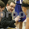Rob Winner – rwinner@shawmedia.com<br /> <br /> Hinckley-Big Rock coach Greg Burks draws up the Royals' final play late in the fourth quarter during the Little Ten Conference semifinal in Serena, Ill., Thursday, Jan. 17, 2013. Serena defeated H-BR, 37-35.
