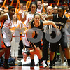 Kyle Bursaw — kbursaw@shawmedia.com<br /> <br /> Sycamore's Katherine Kohler takes the ball up court after a change in possession in the second half. DeKalb defeated Sycamore 36-18 in their annual game at the Convocation Center in DeKalb, Ill. on Friday, Jan. 25, 2013.