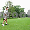Monica Maschak - mmaschak@shawmedia.com<br /> Mickey Johnson of DeKalb tees off at the 14th hole at Kishwaukee Country Club on Wednesday, June 26, 2013.