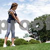 Rob Winner – rwinner@shawmedia.com<br /> <br /> Gwyn Golembiewski (front), 11, and Sydney McNett, 11, work on their chipping skills at the Buena Vista Golf Course in DeKalb, Ill., Tuesday, July 2, 2013.