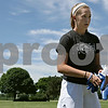 Rob Winner – rwinner@shawmedia.com<br /> <br /> Goalkeeper Drew Moulton of Sycamore readies her gloves before a practice at Sycamore Park on Friday, July 12, 2013. Moulton plays for the Olympic Development Program.