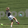Rob Winner – rwinner@shawmedia.com<br /> <br /> Drew Moulton of Sycamore practices kicking at Sycamore Park on Friday, July 12, 2013. Moulton plays for the Olympic Development Program.