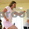 Rob Winner – rwinner@shawmedia.com<br /> <br /> Laura Wagner of Maple Park takes part in a step and strengthen class at the Kishwaukee Family YMCA in Sycamore, Ill., Friday, July 12, 2013.
