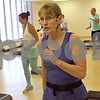 Rob Winner – rwinner@shawmedia.com<br /> <br /> Diana Keys leads a step and strengthen class at the Kishwaukee Family YMCA in Sycamore, Ill., Friday, July 12, 2013. Keys, a baby boomer, has been a fitness instructor for over 30 years.
