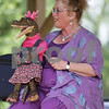 Monica Maschak - mmaschak@shawmedia.com<br /> Ventriloquiest Sandi Sylver and her crocodile puppet, Cutie Pie, tell stories to the children and families at the Kirkland Festival on Independence day. The festival runs through Sunday, July 7.