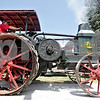 Monica Maschak - mmaschak@shawmedia.com<br /> Leonard Funfsinn and Don Cleary, of Mendota, pilot a 1923 Rumley Oil Pull 2040 in the tractor and truck Parade of Power at the Waterman Lions Club 13th Annual Summer Fest at Waterman Lions Park on Saturday, July 20, 2013.