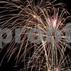 Monica Maschak - mmaschak@shawmedia.com<br /> Fireworks dance across the sky for the Fourth of July celebration at Hopkins Park in DeKalb.