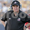 Chronicle File Photo <br /> <br /> Former Northern Illinois football coach Joe Novak watches from the sidelines during a game at Soldier Field in Chicago, Ill., Saturday, Sept. 1, 2007 against Iowa.