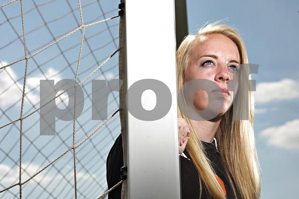 Rob Winner – rwinner@shawmedia.com<br /> <br /> DeKalb senior Kelli Cardine is the 2013 Daily Chronicle Girls Soccer Player of the Year.<br /> <br /> Monday, June 3, 2013<br /> DeKalb, Ill.