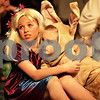 Monica Maschak - mmaschak@shawmedia.com<br /> Maggie Madziarczyk, as Thumbelina, holds Cydney Henson, the bunny, during a dress rehearsal for Shrek the Musical at Stage Coach Player in Dekalb on Tuesday, June 4, 2013. The show opens on Thursday, June 6 and run through June 16.