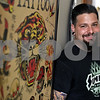 Rob Winner – rwinner@shawmedia.com<br /> <br /> Sycamore resident Nick Misitano plans to open a new tattoo shop located at 817 West Lincoln Highway in DeKalb this coming August after the DeKalb City Council signed off a conditional license.<br /> <br /> Taken at Ronin Tattoo in Aurora, Ill.<br /> Tuesday, June 11, 2013