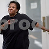 Monica Maschak - mmaschak@shawmedia.com<br /> Deacon Darlene Webb moves to the music during a free Zumba class lead by Myisha Hill at the New Hope Missionary Baptist Church on Thursday, June 13, 2013.